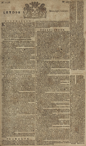 Leydse Courant 1758-08-28