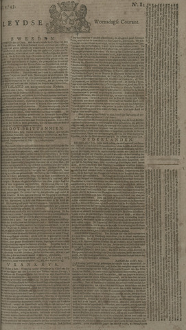 Leydse Courant 1743-07-10