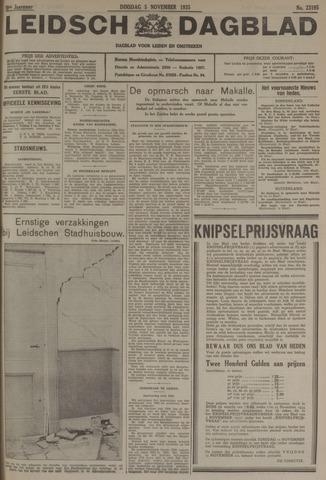 Leidsch Dagblad 1935-11-05