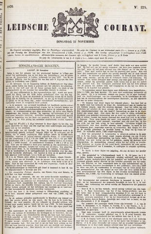 Leydse Courant 1876-11-21
