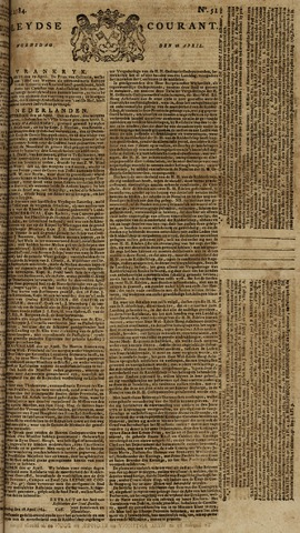 Leydse Courant 1784-04-28
