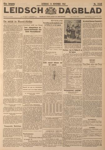 Leidsch Dagblad 1942-11-14