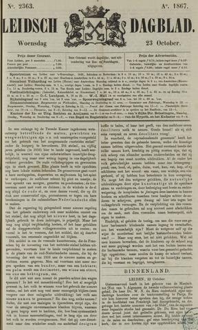 Leidsch Dagblad 1867-10-23