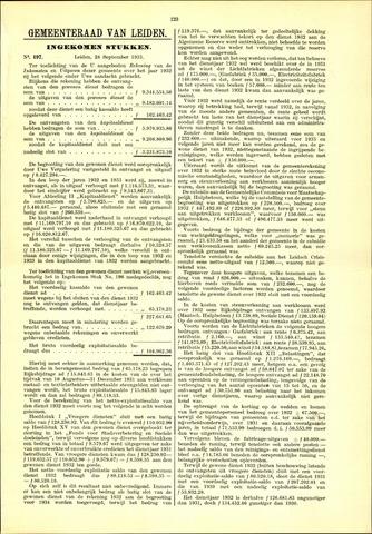 Handelingen van de Raad 1933-09-28