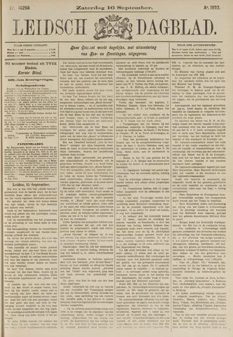 Leidsch Dagblad 1893-09-16