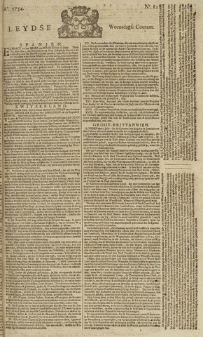 Leydse Courant 1754-07-10