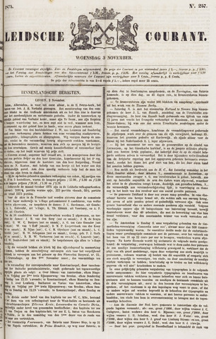 Leydse Courant 1875-11-03