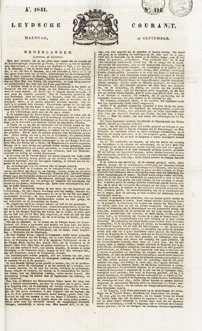 Leydse Courant 1841-09-27