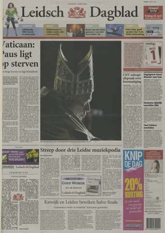 Leidsch Dagblad 2005-04-01