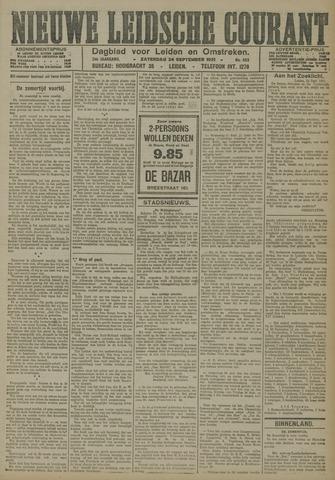 Nieuwe Leidsche Courant 1921-09-24