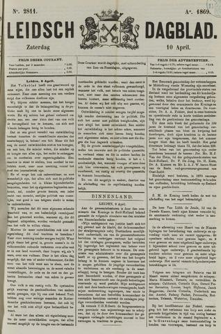 Leidsch Dagblad 1869-04-10