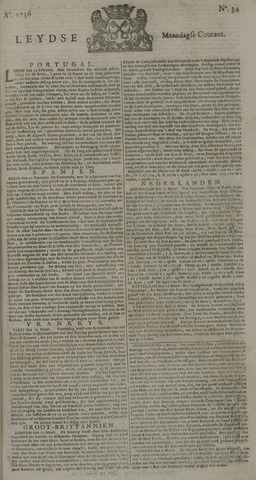 Leydse Courant 1736-03-19