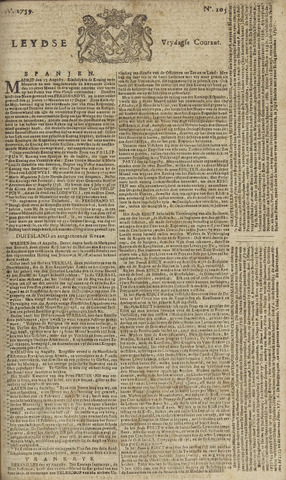 Leydse Courant 1759-08-31