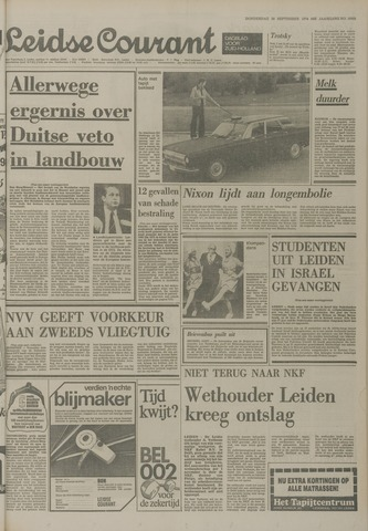 Leidse Courant 1974-09-26