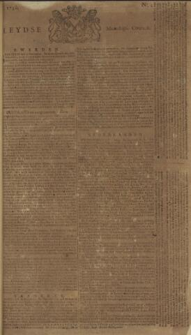 Leydse Courant 1758