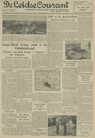 Leidse Courant 1949-10-21