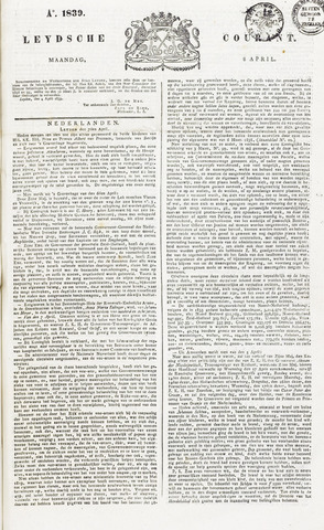 Leydse Courant 1839-04-08