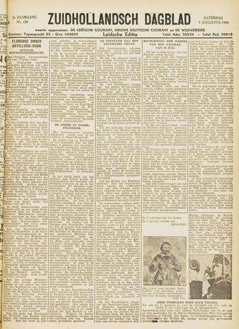 Zuidhollandsch Dagblad 1944-08-05