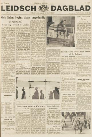 Leidsch Dagblad 1954-06-11
