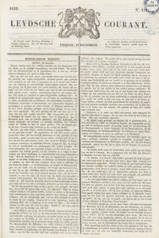 Leydse Courant 1852-12-17