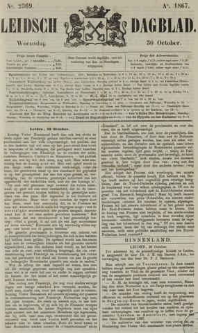 Leidsch Dagblad 1867-10-30
