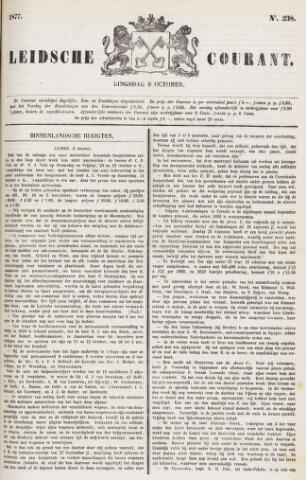 Leydse Courant 1877-10-09