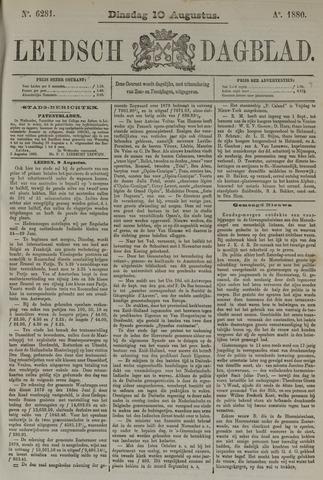 Leidsch Dagblad 1880-08-10
