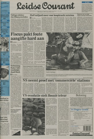 Leidse Courant 1992-08-14