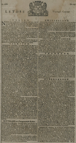 Leydse Courant 1729-12-09
