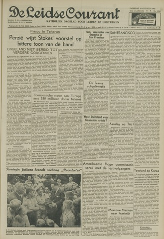 Leidse Courant 1951-08-18