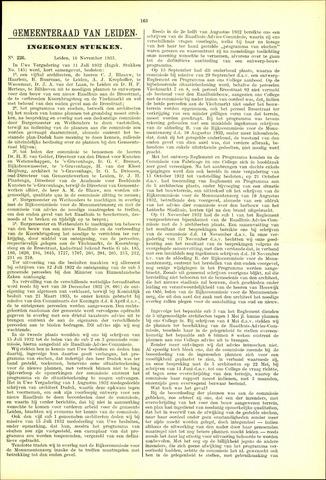 Handelingen van de Raad 1933-11-16