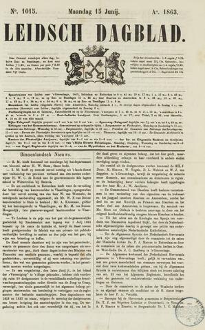 Leidsch Dagblad 1863-06-15