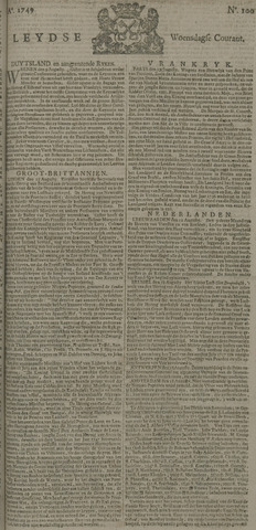 Leydse Courant 1749-08-20