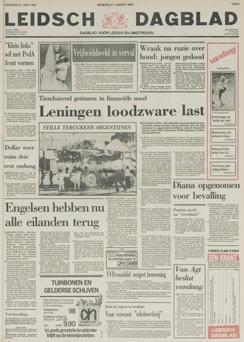 Leidsch Dagblad 1982-06-21