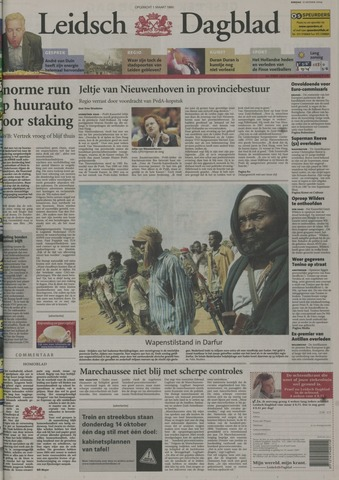 Leidsch Dagblad 2004-10-12