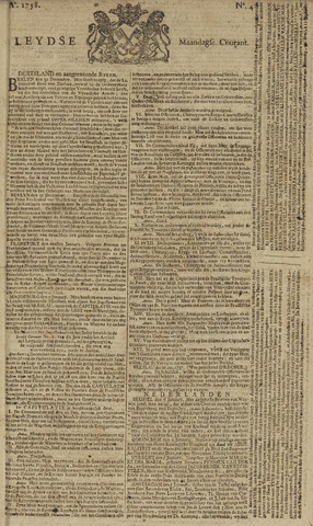 Leydse Courant 1758-01-09