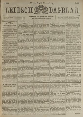 Leidsch Dagblad 1896-11-18