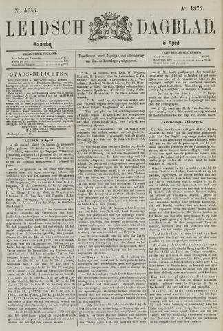 Leidsch Dagblad 1875-04-05
