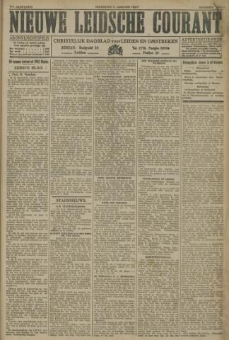 Nieuwe Leidsche Courant 1927-01-03