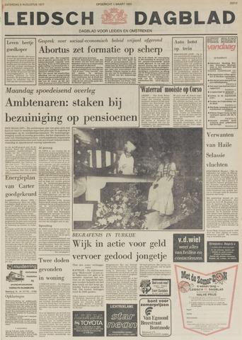 Leidsch Dagblad 1977-08-06
