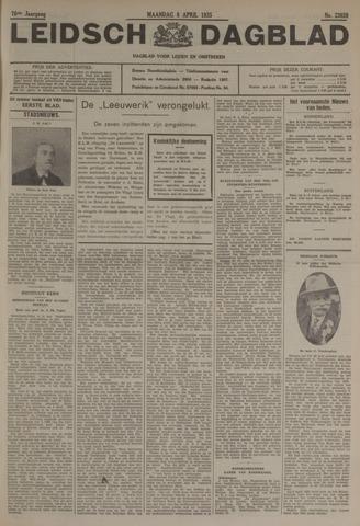 Leidsch Dagblad 1935-04-08