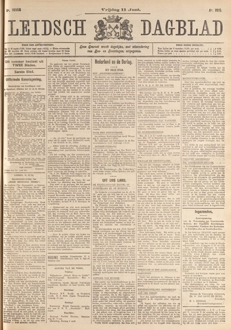 Leidsch Dagblad 1915-06-11