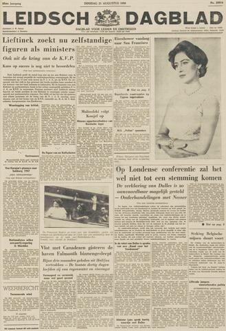 Leidsch Dagblad 1956-08-21