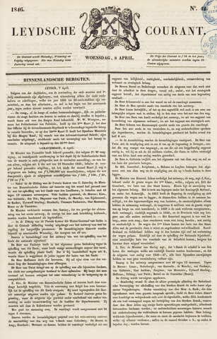 Leydse Courant 1846-04-08