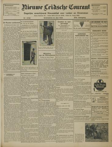 Nieuwe Leidsche Courant 1939-07-12