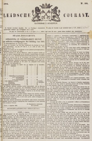 Leydse Courant 1884-08-02