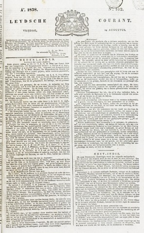 Leydse Courant 1838-08-24