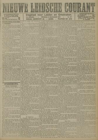 Nieuwe Leidsche Courant 1921-11-04