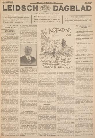 Leidsch Dagblad 1928-10-13