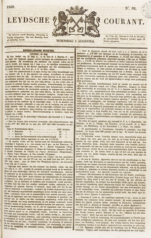 Leydse Courant 1860-08-01